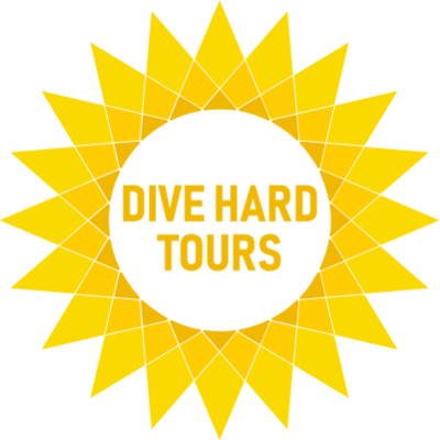 Dive Hard Tours Logo